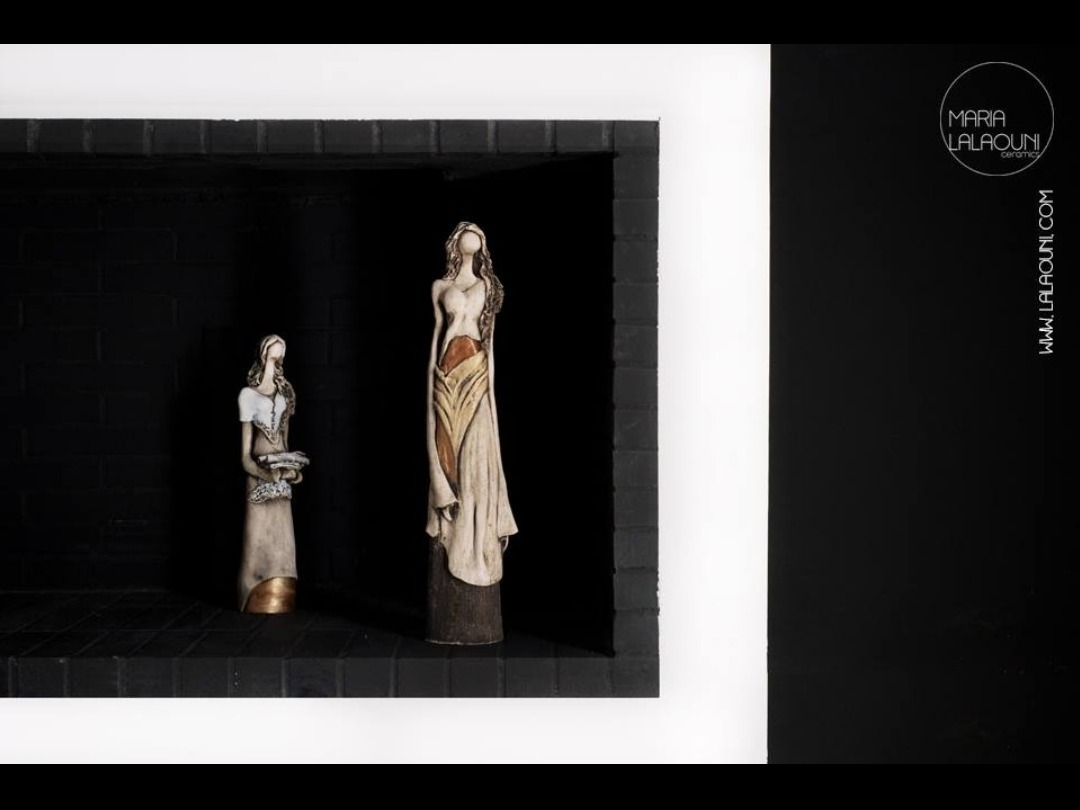 Inner-aspirations about art and design: a collaboration Maria Lalaouni Ceramics X Styllas Manos